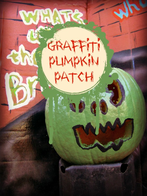 Teen Project: Pumpkin Patch Goes Graffiti