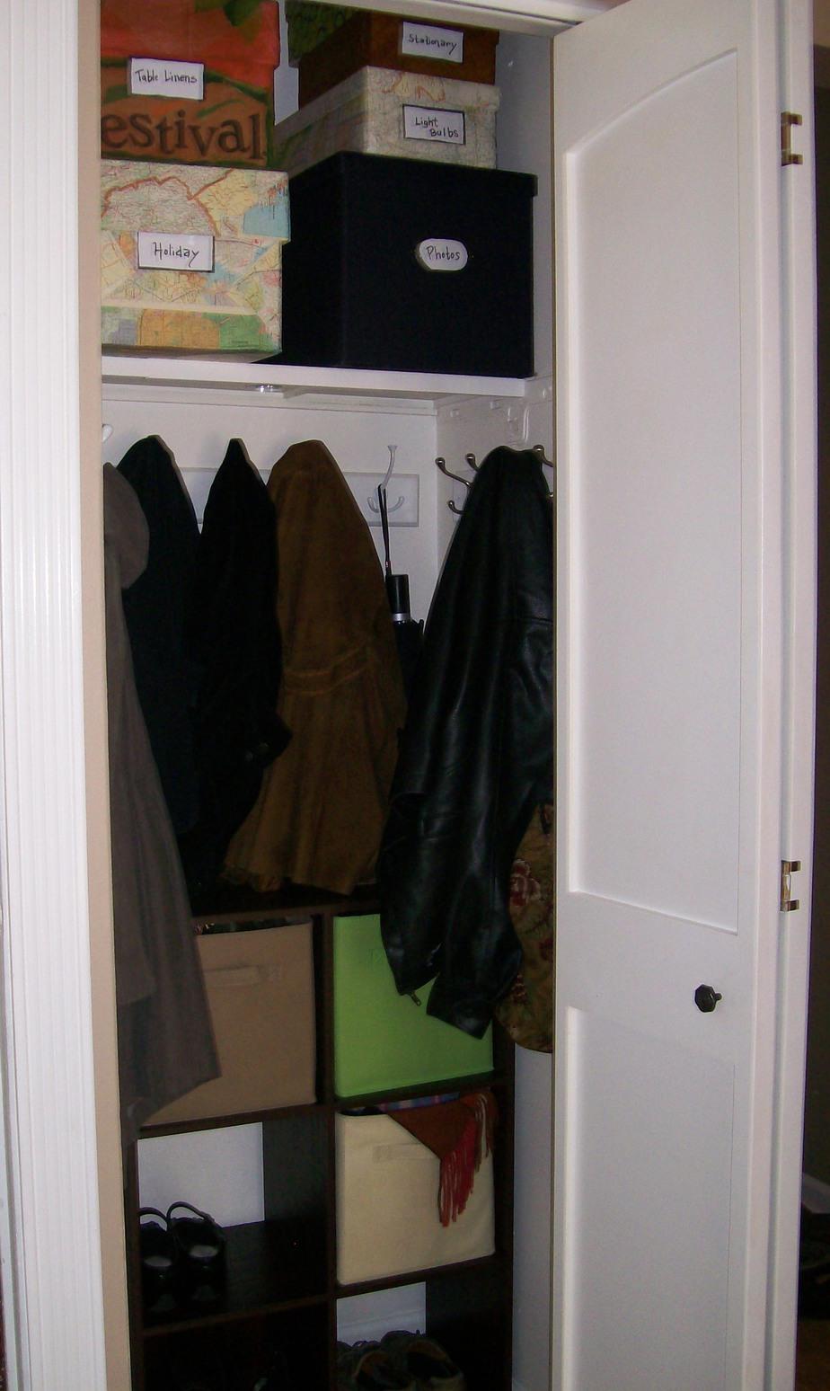 Turn Your Closet Into A Mini Mud Room Stow Tellu