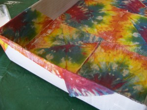 Tutorial on Napkin decoupage