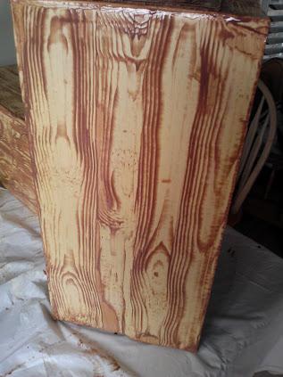 faux wood grain roller 1