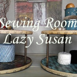 Sewing Room Lazy Susan - StowandTellU.com