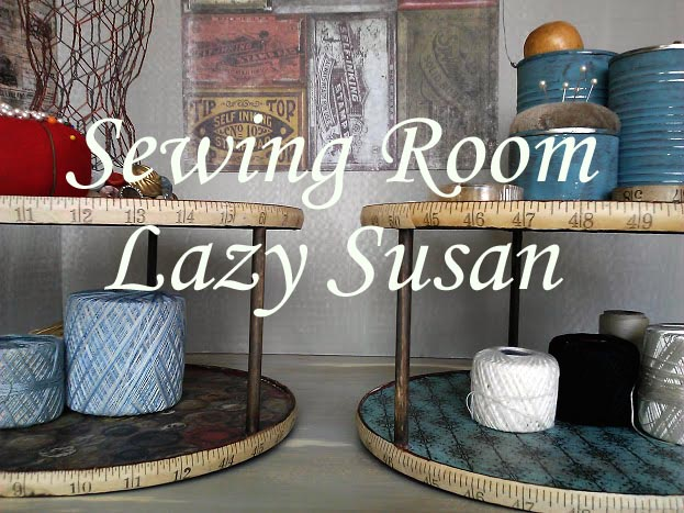 Sewing Room Lazy Susan