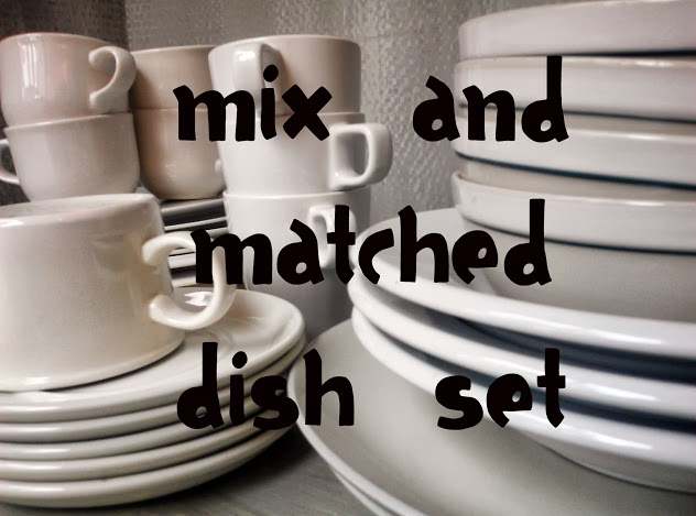 Mix and Matched Dish Set and a $9.00 Trunk