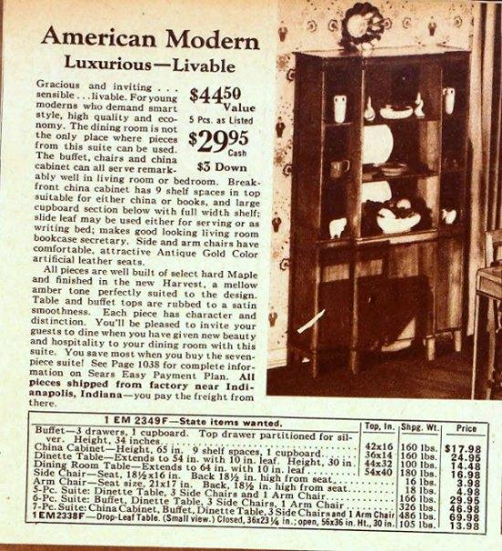 Sears-Roebuck-1940s-ad-maple-buffet