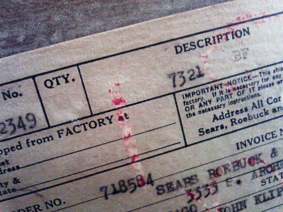 Sears-Roebuck-invoice-1940-chicago