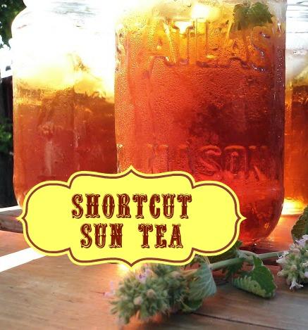 Shortcut Sun Tea
