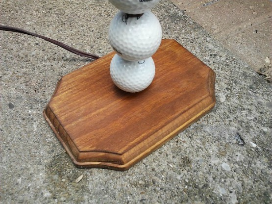 golf lamp base after