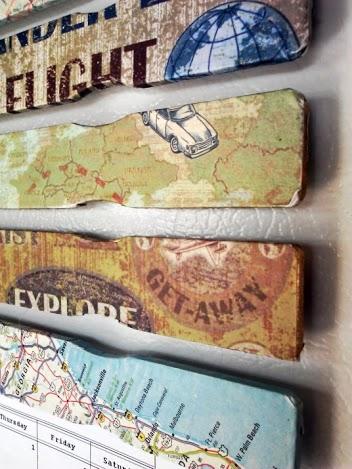 Decoupage Paint Stick Magnet-craft   stowandtellu
