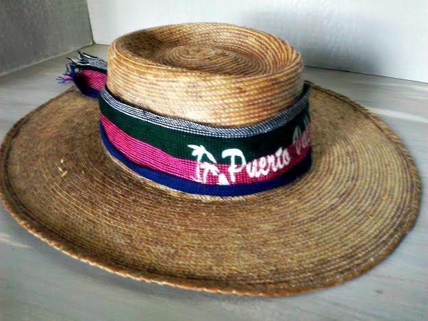 Puerto Vallarta Straw Hat