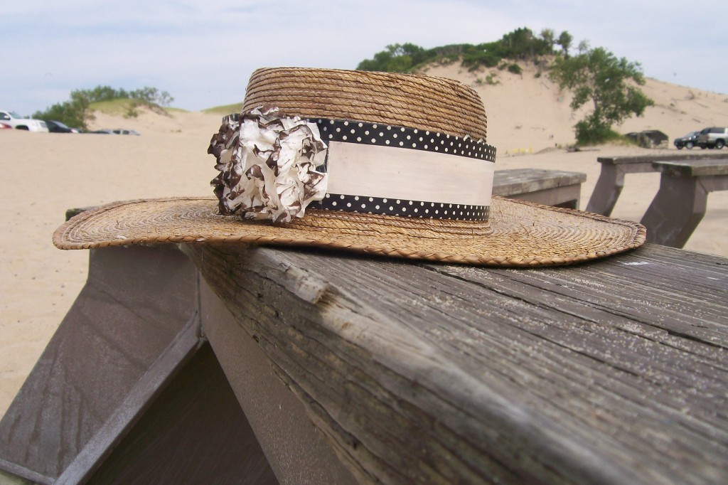 Washi tape Beach Hat - Stowandtellu