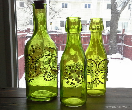 Michaels Craft Store Glass Bottles