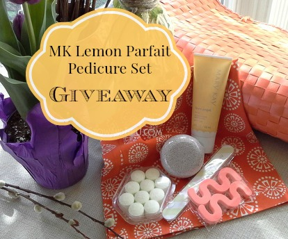 MK Makeover and a Lemon Parfait Pedicure Set Giveaway