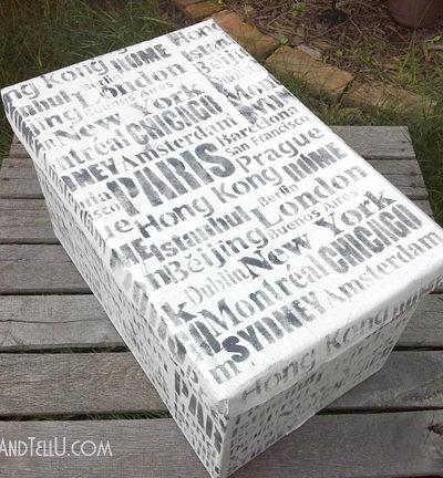 diy-stenciled-storage-box