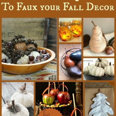 12 Ways to Faux Your Fall Décor
