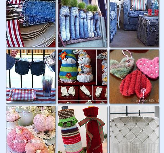 Garden Junk Ideas Galore 2014 Round Up: 40+ Ways To Repurpose Your Clothing
