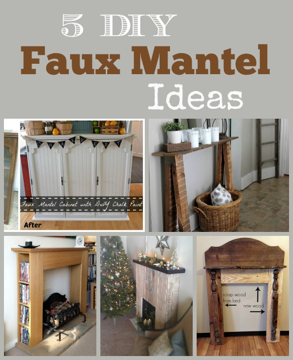 Plans Faux Fireplace Mantel Diy Woodworking Projects Ideas 17 Best