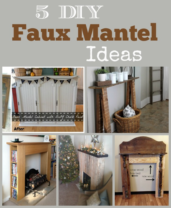 5 Diy Faux Mantel Ideas Stow Amp Tellu