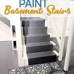 Fast Way Paint Basement Stairs-stowandtellu