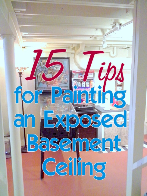 15 tips painting exposed basement ceiling