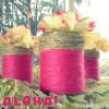 aloha-pink-yarn-wrapped-cans-http://www.stowandtellu.com