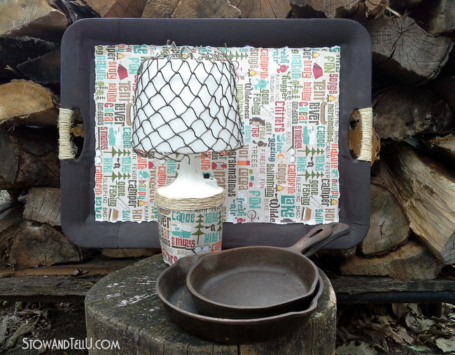 camping-glamping-decoupaged-decor