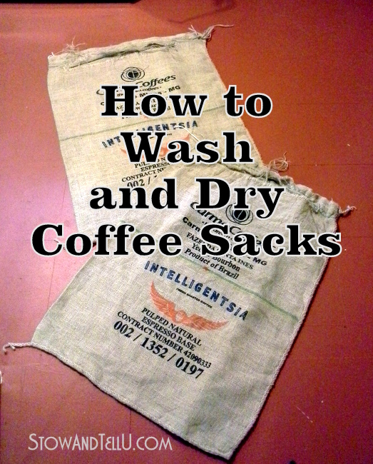 Craft Ideas With Burlap Coffee Bags