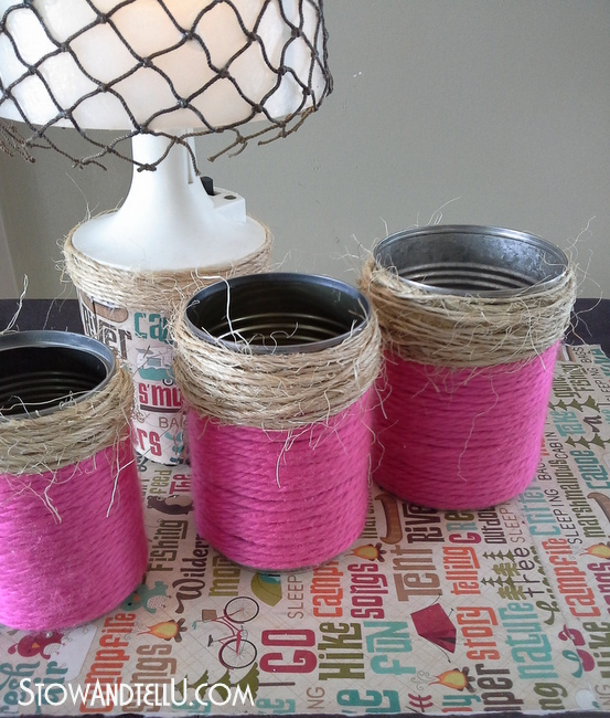 yarn-wrapped-tin-cans