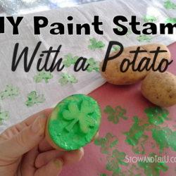 how-to-make-shamrock-diy-paint-stamp-with-potato-http://www.stowandtellu.com