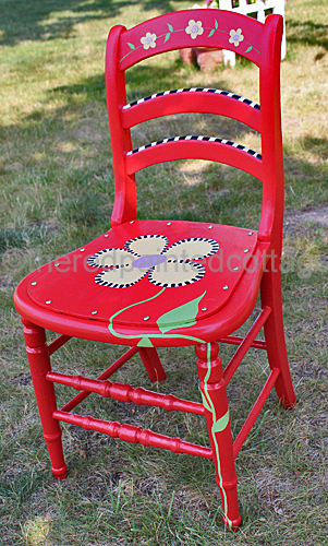flower-painted-chair