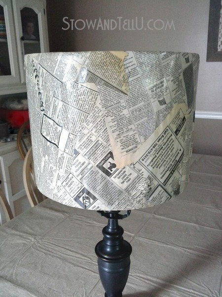 vintage-newspaper-decor-lamp-shade-https://stowandtellu.com