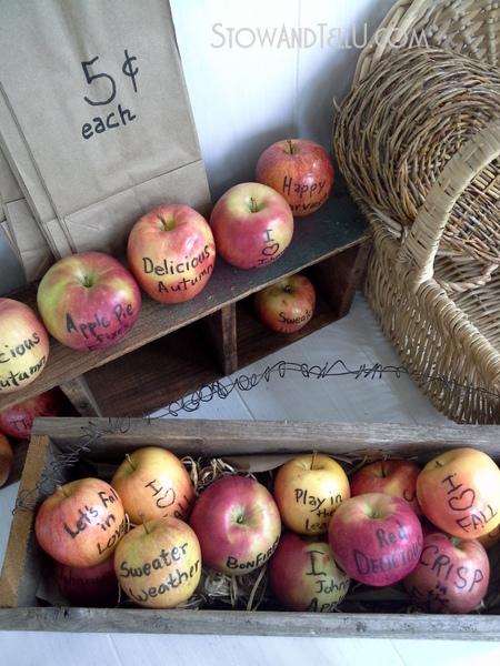 fall-decor-gift-apples-edible-writing-https://stowandtellu.com