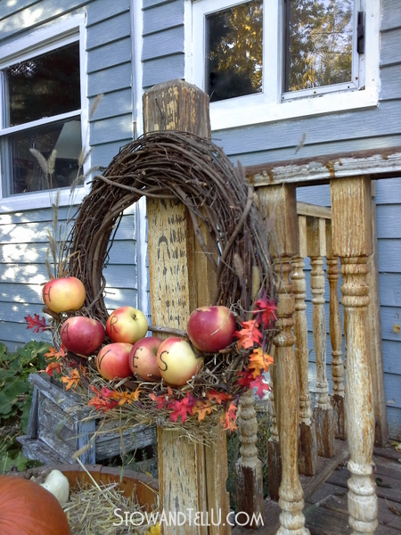 fall-wreath-real-apples