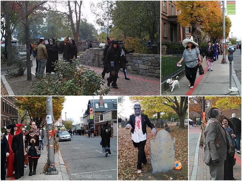 A visit to Salem Massachusetts on Halloween