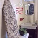 diy handsewn ironing board cover