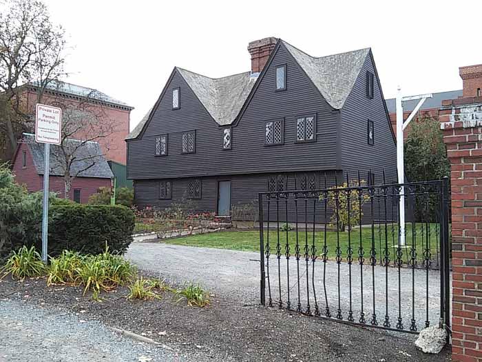 Historic House in Salem Massachusetts