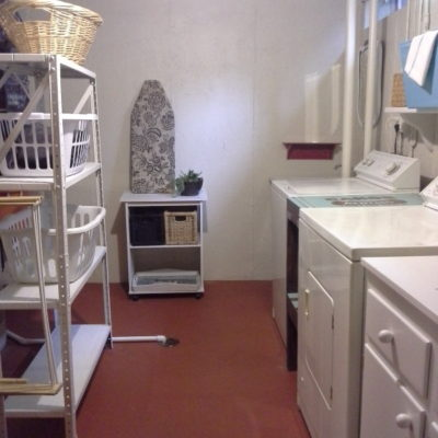 Townhouse Laundry Room Makeover Reveal
