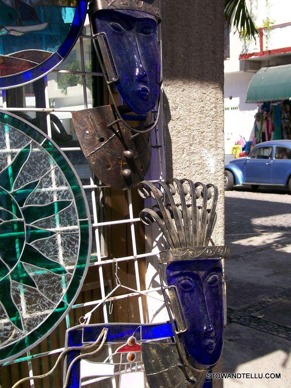 postcards from cobalt-blue-native-art-puerto-vallarta