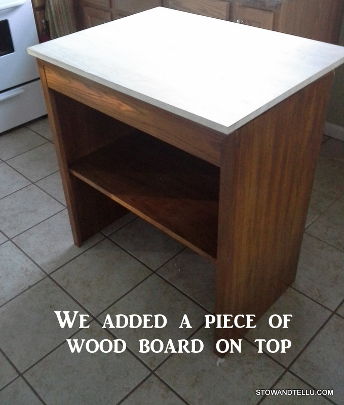 how i found more kitchen counter space stow tellu