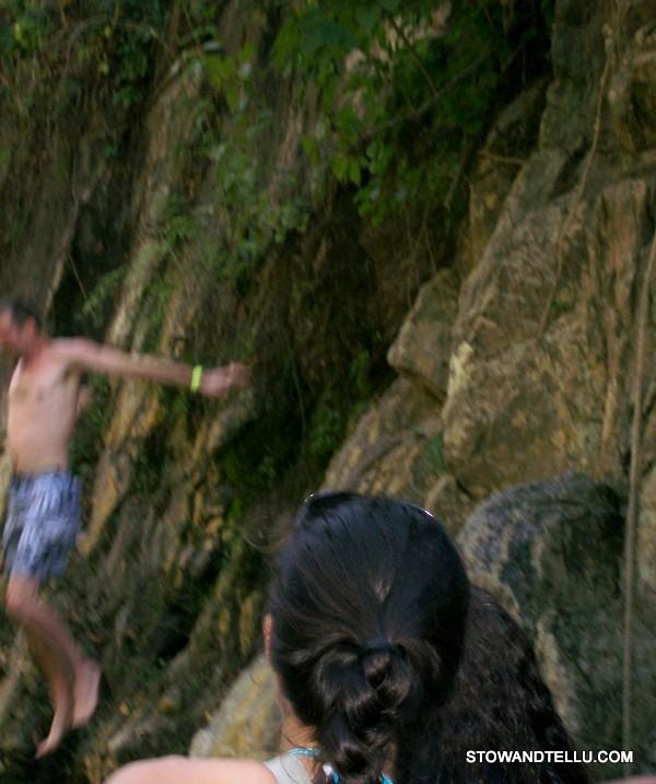 jumping-into-waterfall-puerto-vallarta