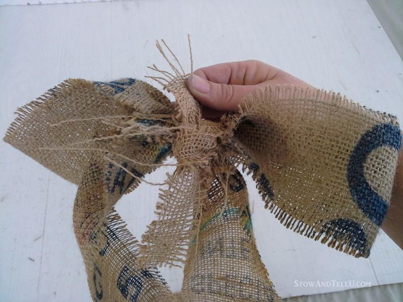 making-coffee-sack-bow