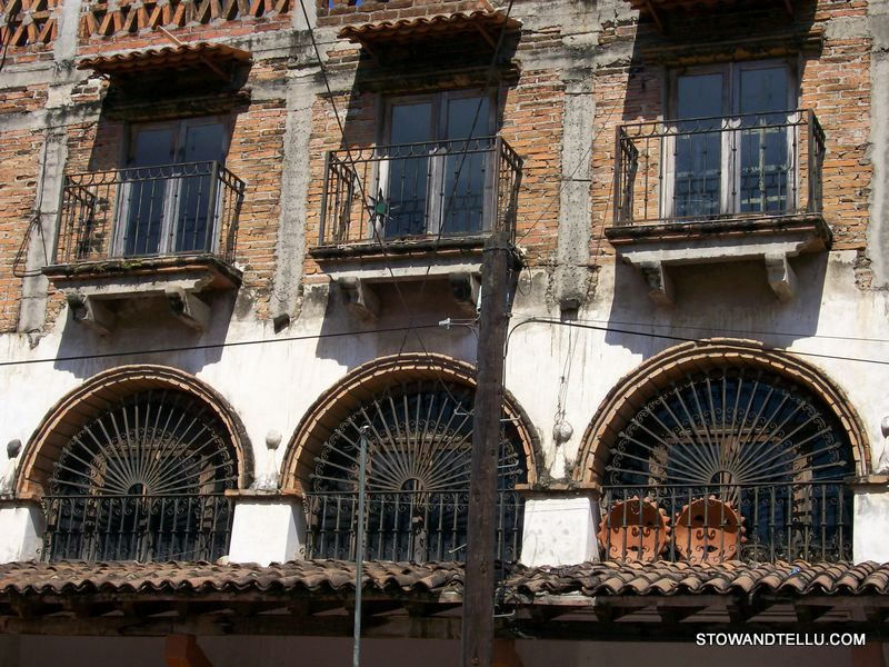 postcards from Puerto Vallarta: architecture-balcony