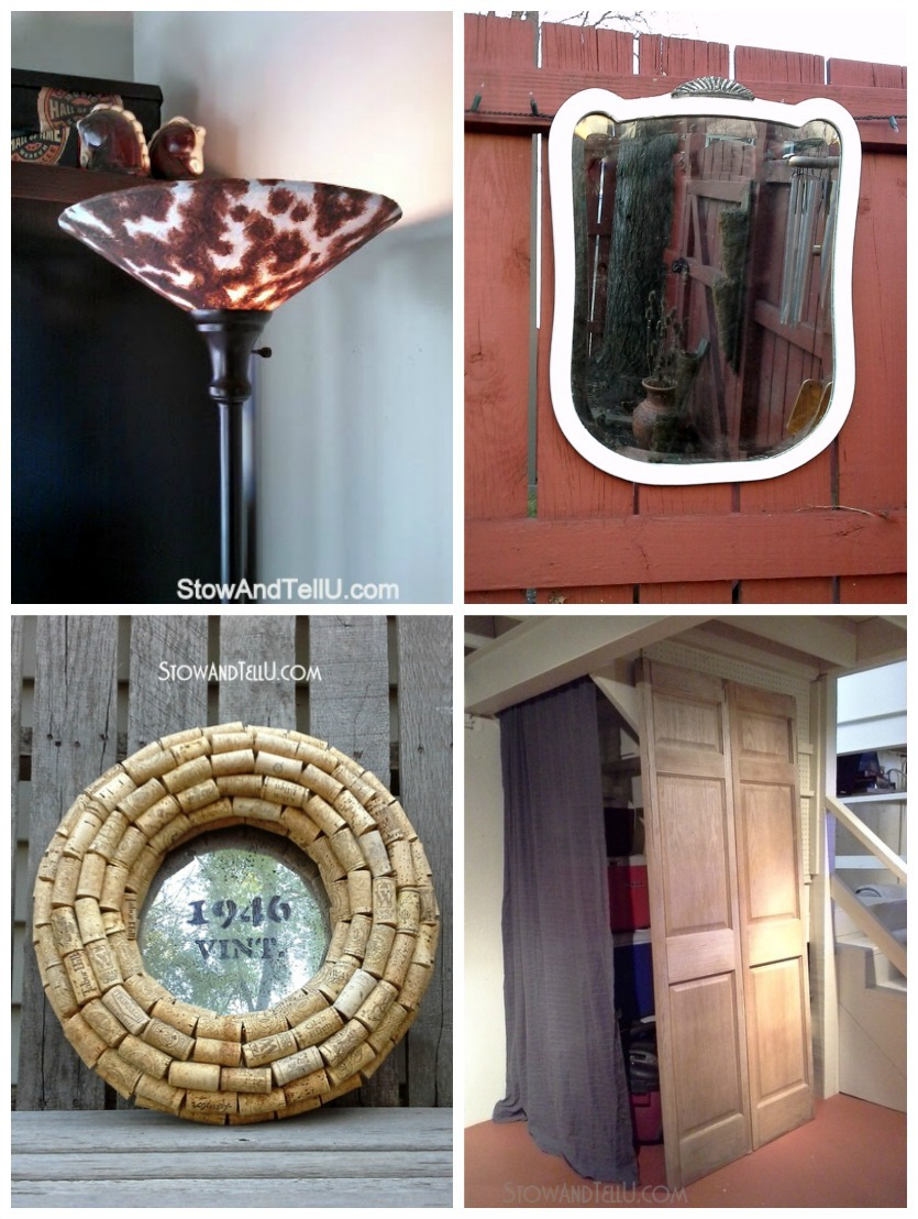 """Basement furnishings are updated with """"use what you have"""" decorating ideas - StowandTellU.com"""