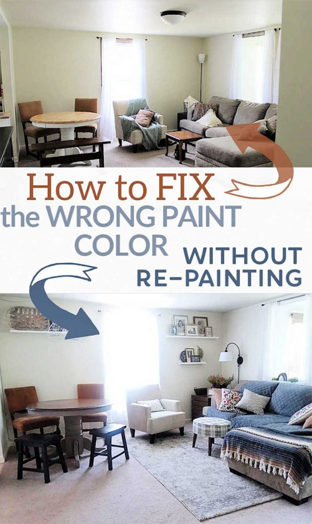 How to Change the Wrong Wall Color without Repainting