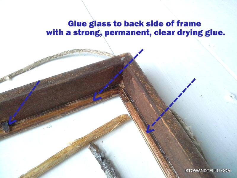 how-to-fake-glass-floating-frame - StowAndTellU.com