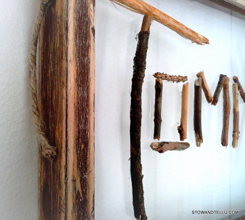 twig-name-art-nature-crafts - StowAndTellU.com