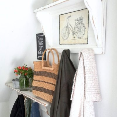 Bicycle Built for a Pair of 90s Coat Rack Shelves