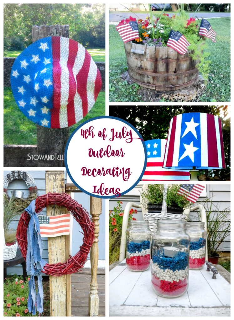 4th of july ideas for decorating outdoor space
