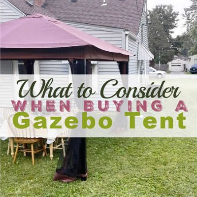 What to Consider When Buying a Gazebo Tent for Stormier Climates