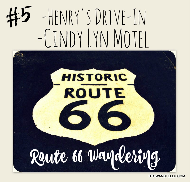Route 66 Wandering: Henry's Drive-In and Cindy Lyn Motel - Cicero Illinois - StowAndTellU