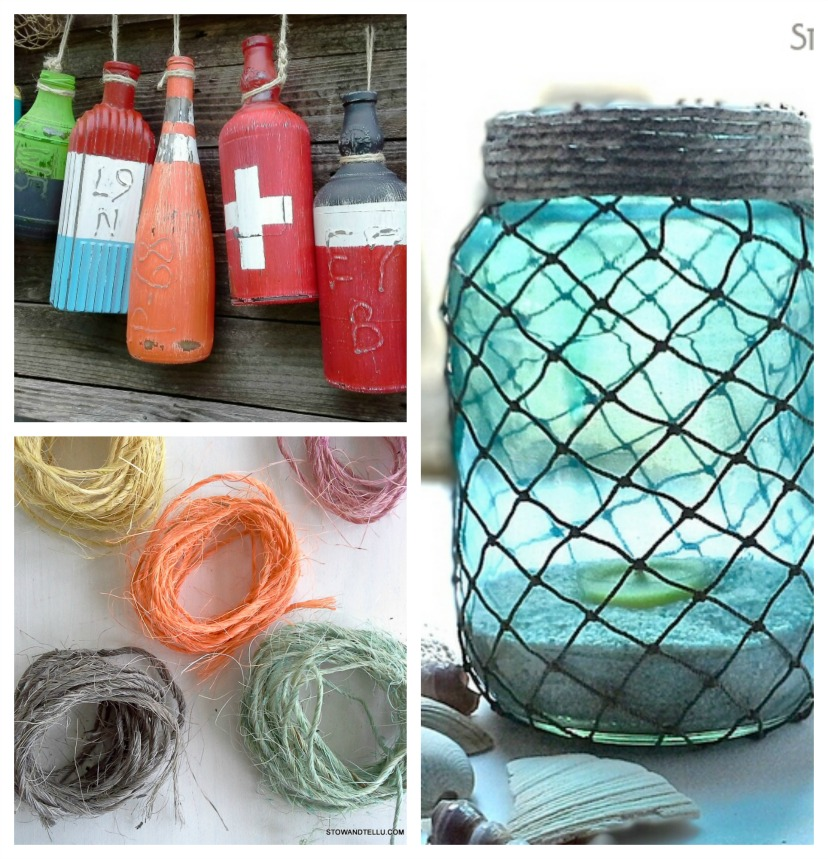 Coastal inspired diy ideas -StowandTellU #FiftyandFab